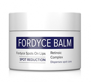 Fordyce Balm packaging.