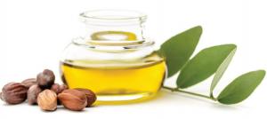 Natural, simple jojoba oil