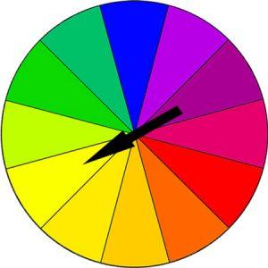 Color-Wheel with arrow.
