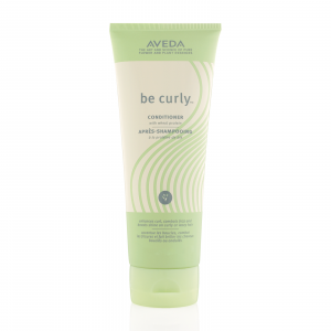 Aveda conditioner product bottle.