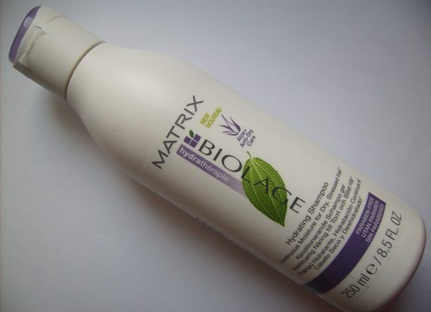 Matrix biolage product bottle.