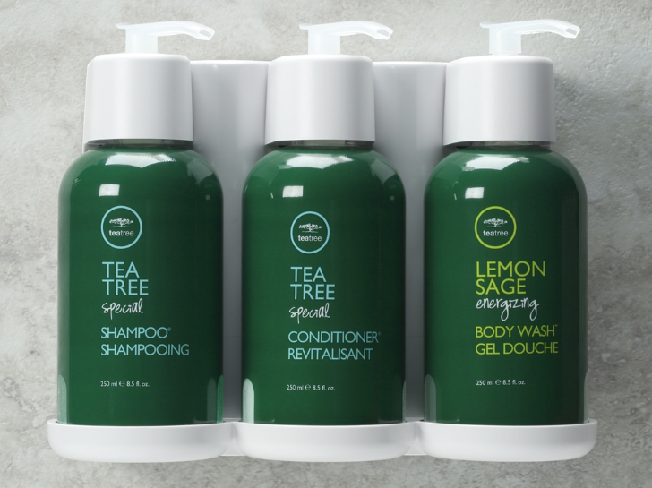 Paul Mitchell Tea Tree products.
