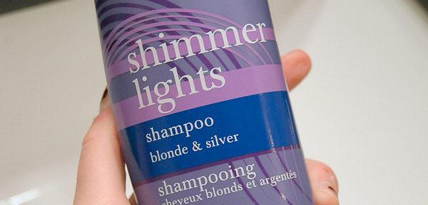 Clairol shimmer lights shampoo.