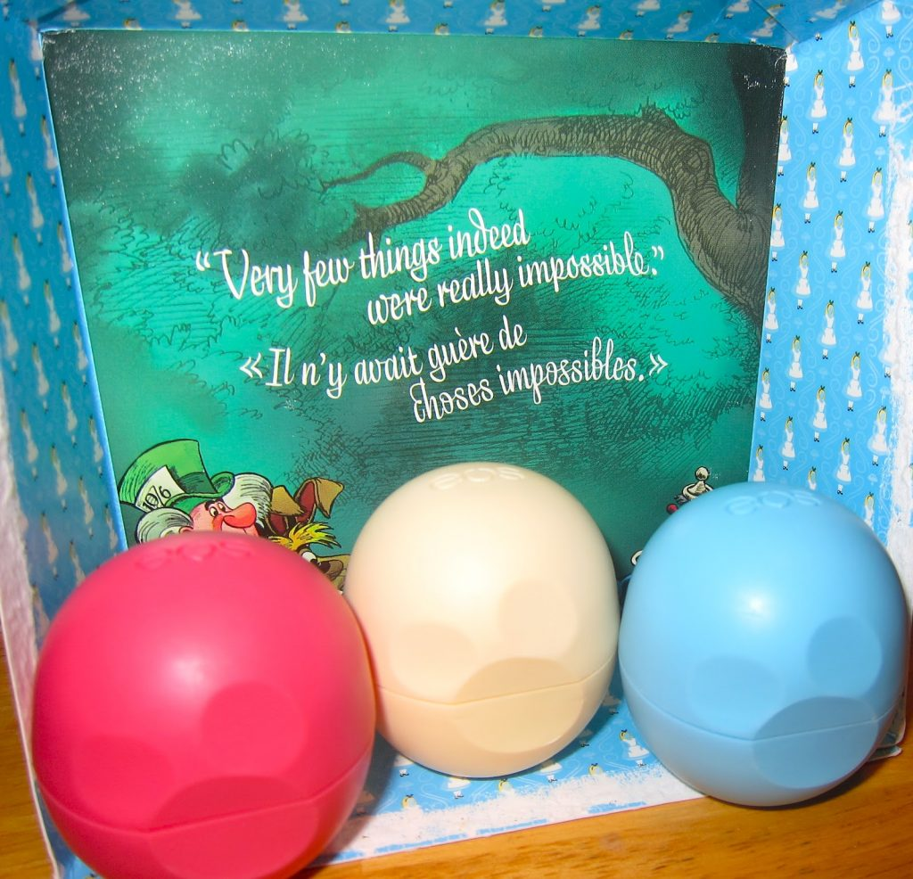 eos Alice in Wonderland set.