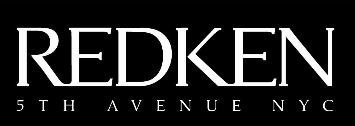 Redken black and white logo.