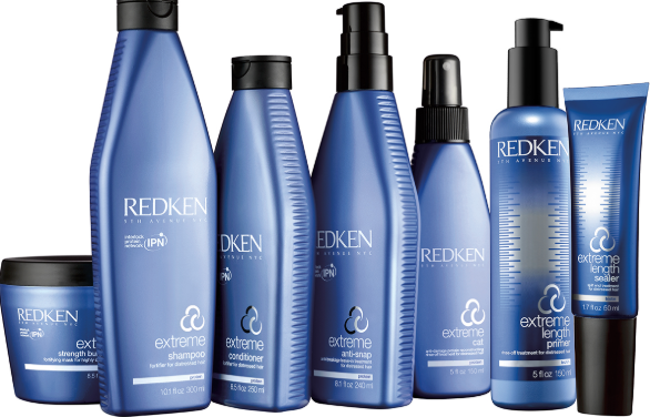 Redken extreme products.
