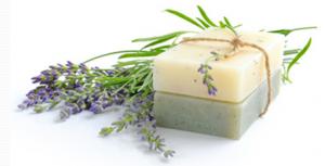 Natural DIY soap.