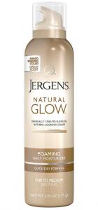 Jergen's Foaming tanning spray.