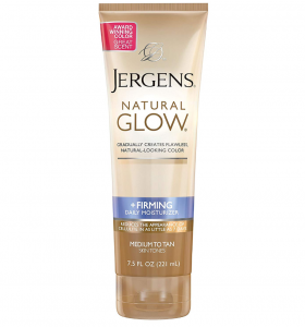Jergens natural glow for skin.