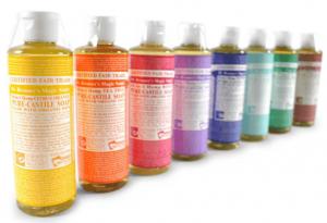 castile dr. bronners liquid soap