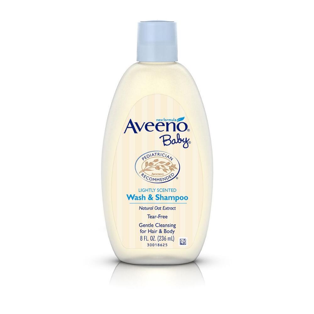Aveeno Baby Wash & Shampoo.
