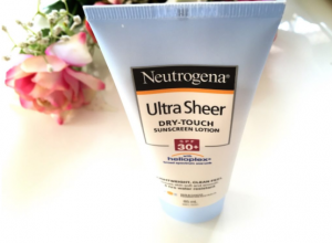 Neutrogena sunscreen for sensitive skin sun protection