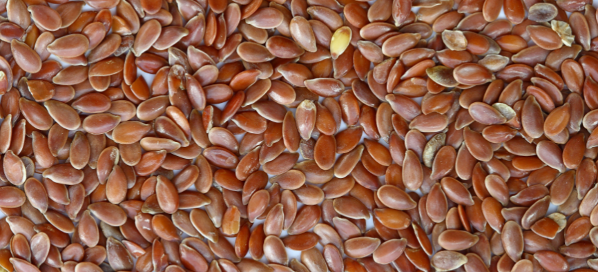 A lot of flaxseed.