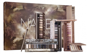 A variety of products in Urban Decay's naked line.
