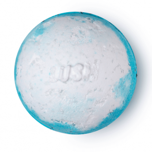 Lush's big blue bath bomb.