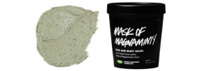 Lush's mask of magnaminty for the face.