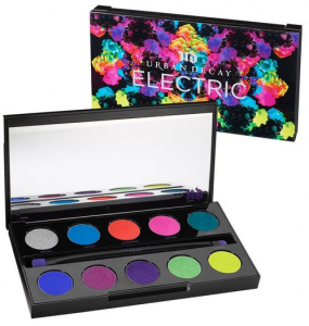 Urban Decay's electric pressed pigment palette.