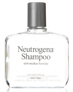 Neutrogena's shampoo with anti-residue formula.