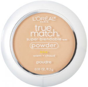 L'Oréal's true match powder foundation.