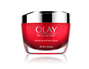 Olay's regenerist micro-sculpting cream.
