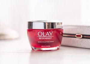 Olay's regenerist micro sculpting cream.