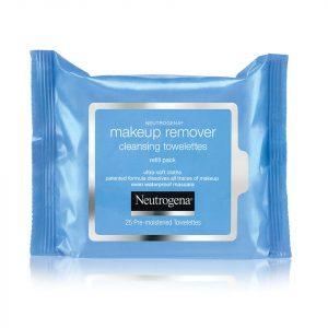 Neutrogena's makeup remover wipes.