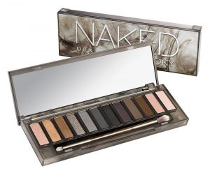 Urban Decay's naked smoky eyeshadow palette.