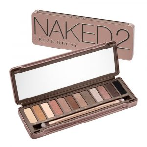 Urban Decay's naked2 eyeshadow palette.