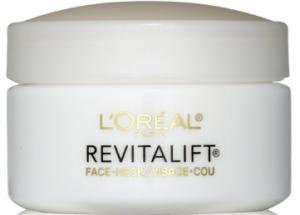 L'Oréal's revitalift anti-wrinkle + firming eye cream.
