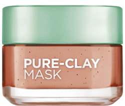 L'Oreal's pure-clay mask.
