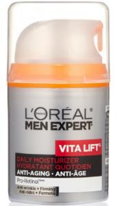 L'Oréal's men expert vita lift moisturizer.