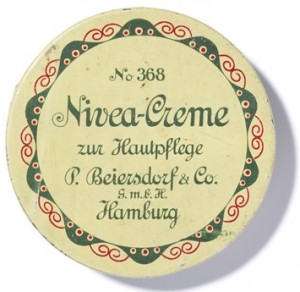 The first Nivea creme.