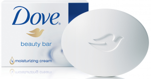 Dove's beauty bar.