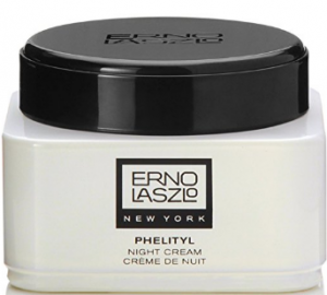 Erno Laszlo's phelityl night cream.