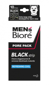 Bioré's men's cleansing strips.