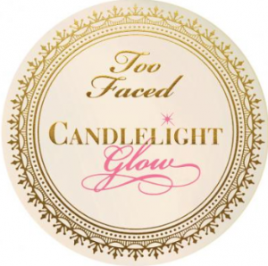 Too Faced candlelight glow highlighting powder.