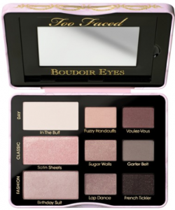 Too Faced boudoir eyes eye shadow.
