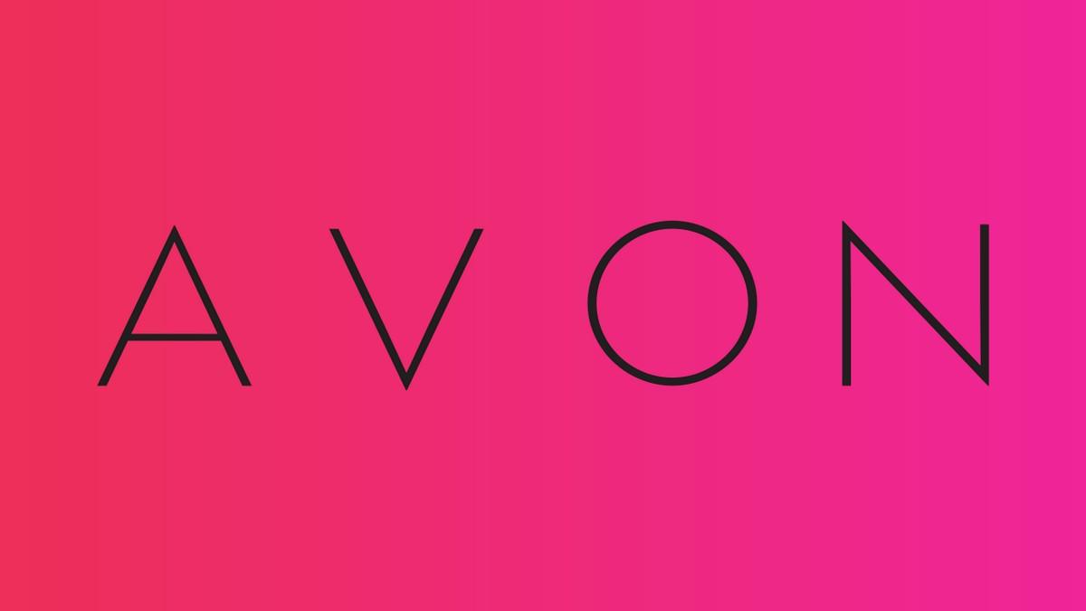 Avon promotional banner.