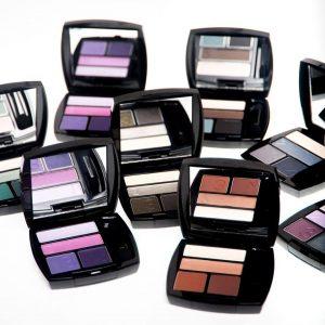Avon's eyeshadow palettes.