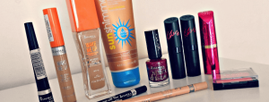 Lipsticks, mascara and other Rimmel products