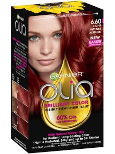 Garnier's olia hair color.