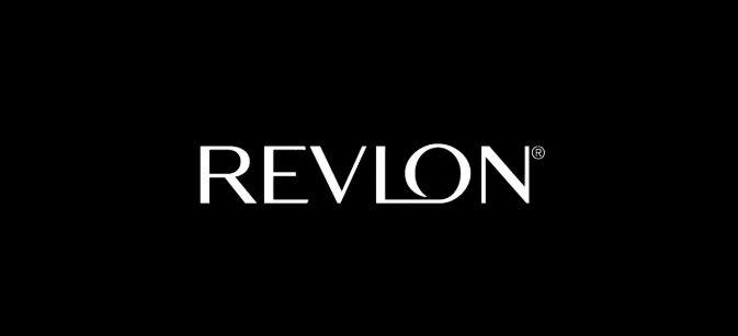 Revlon promotional banner.