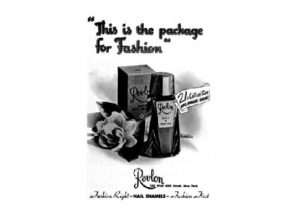 Old fashioned Revlon advertisement.