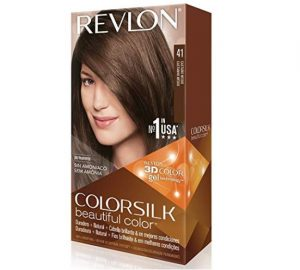 Revlon's colorsilk hair care product.