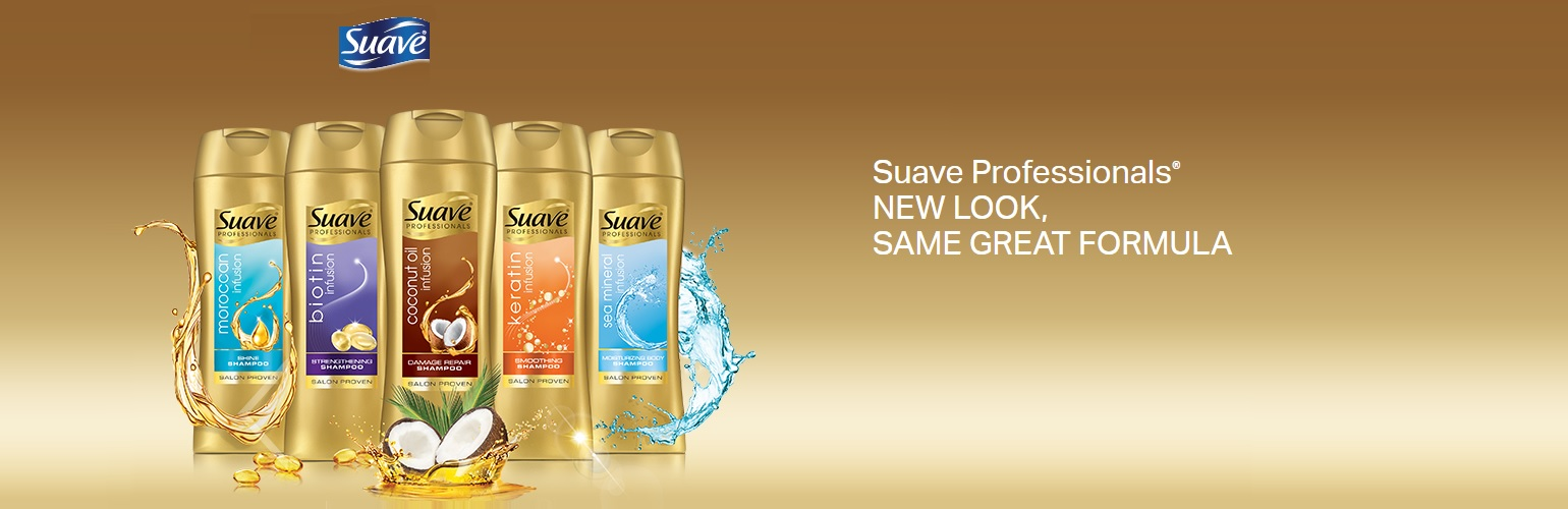 Suave hair products