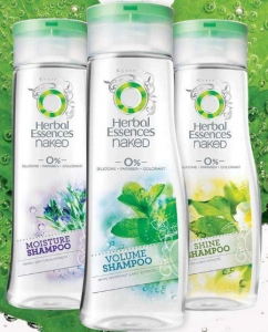 Herbal Essences Naked shampoo