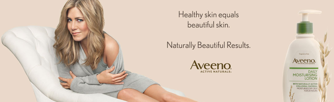 Aveeno Jennifer Aniston ad