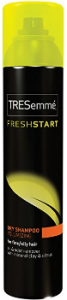Tresemme dry shampoo can