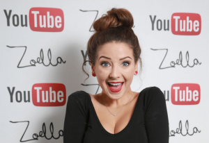 Zoella the YouTube star