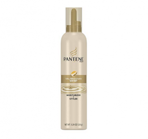 Pantene Hair-protecting serum bottle